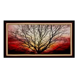 "Artworks Digital Sunburst Sentinel Tree 23"" Panel Multi"