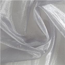 Fairy Dust Organza Silver Grey