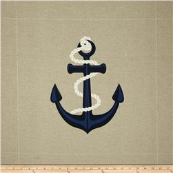 Tempo Indoor/Outdoor Large Anchor Linen
