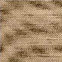 Jaclyn Smith 02626 Faux Burlap Blend Natural