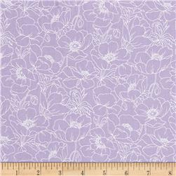 Poppy Panache Poppy Outline Light Purple