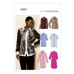 Vogue Misses' Shirt Pattern V8927 Size B50