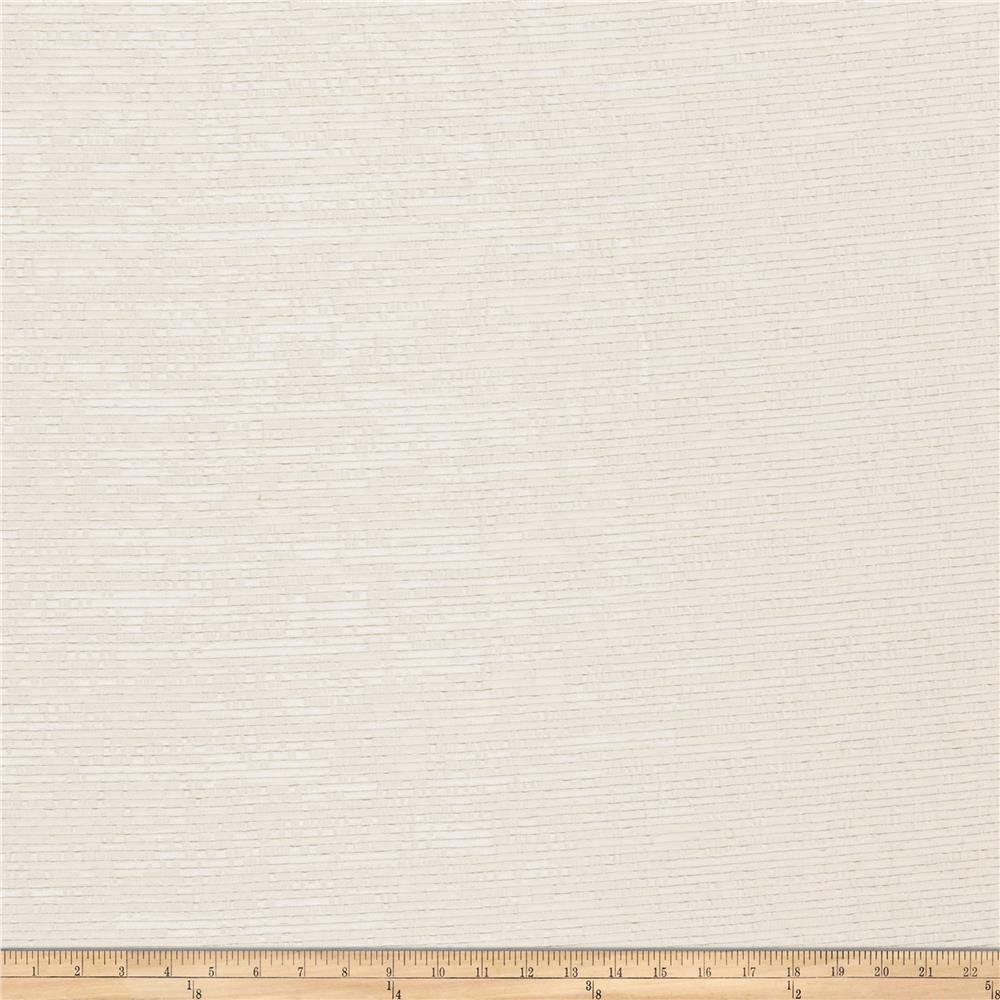 Fabricut Kersee Faux Silk Ivory