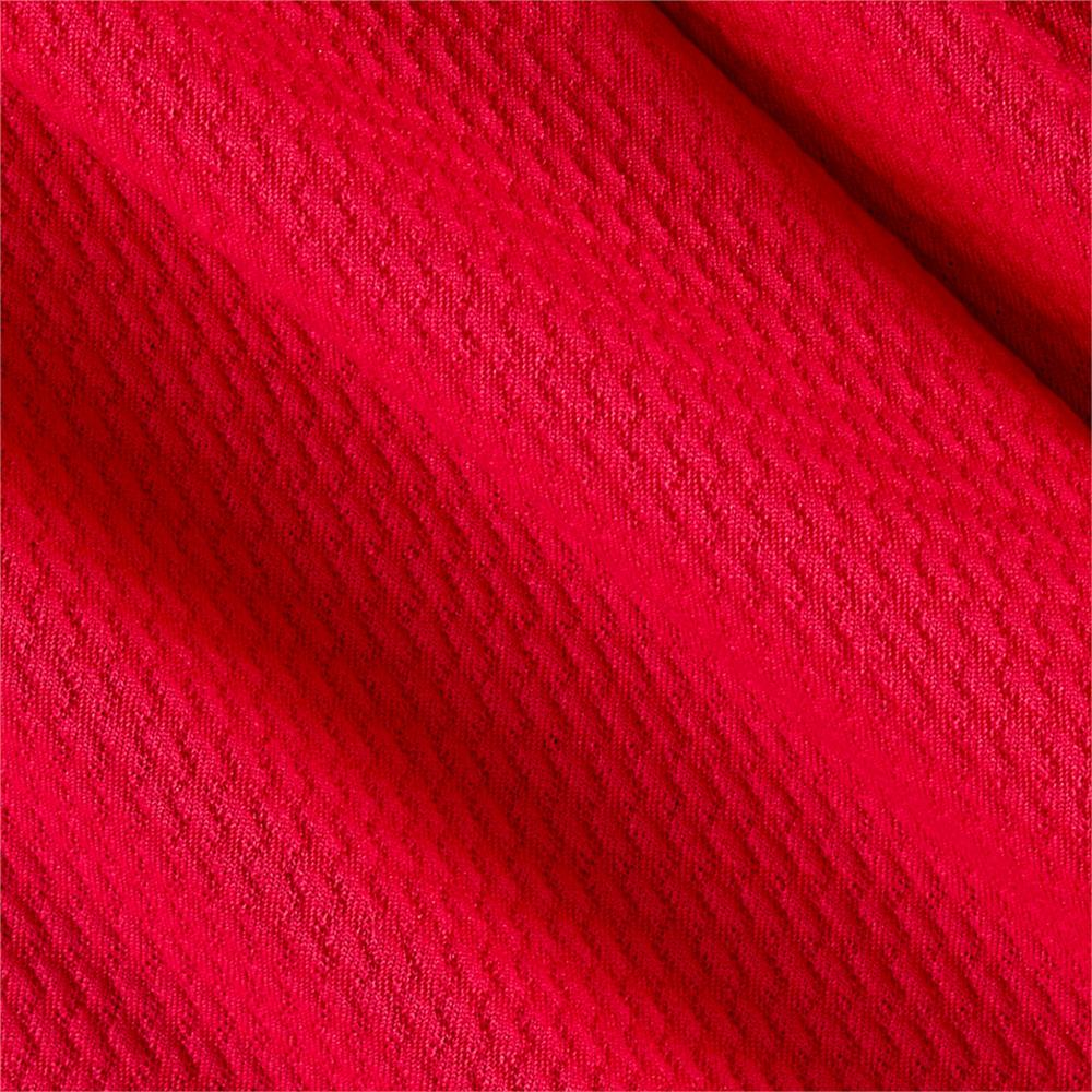 Liver Pool Double Knit Embossed Interlock Fuscia