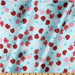 Robert Kaufman Silky Satin Merry Cherry Tiffany/Red