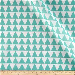 RCA Pax Triangle Sheers Jade Green