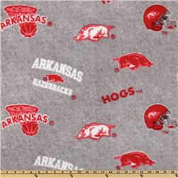 Collegiate Fleece University Of Arkansas All Over Heather