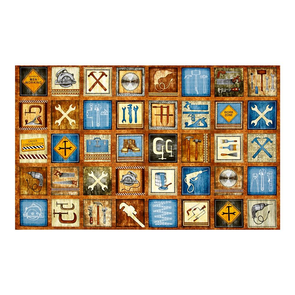 Craftsman Tools & Construction Signs Patches Acorn