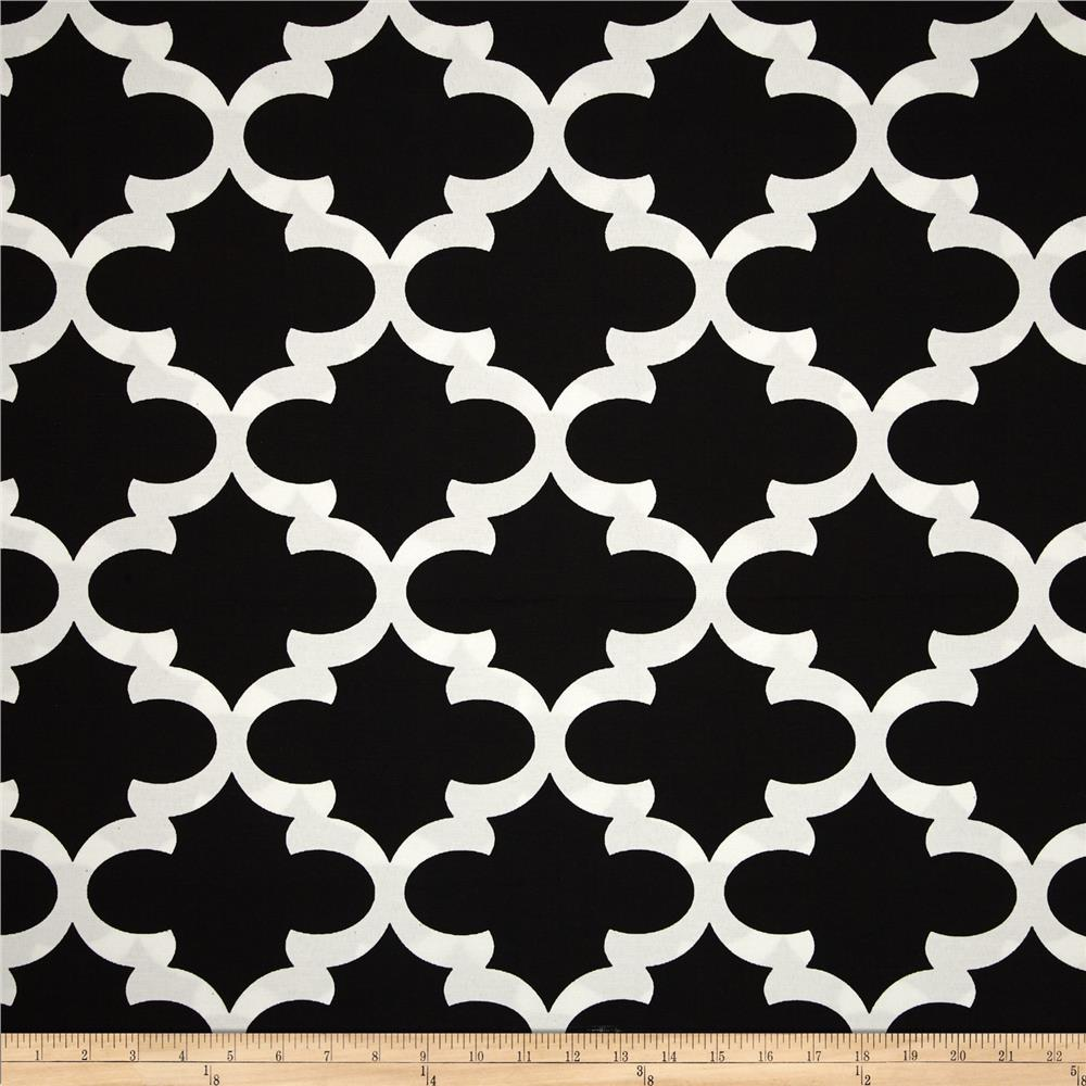 Premier Prints Indoor/Outdoor Fynn Black