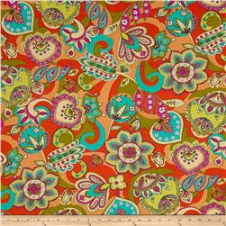 Ink & Arrow Paloma Large Floral Orange
