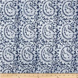 Home Accents Kashmur Paisley Navy