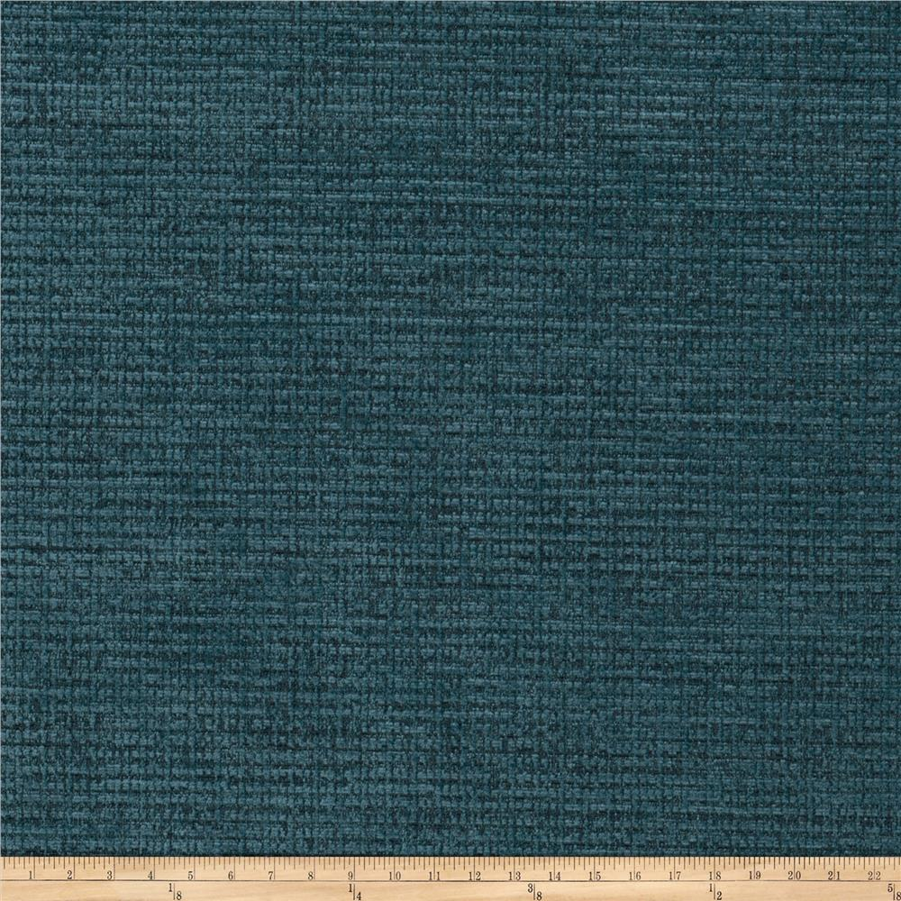 Fabricut Remington Chenille Basketweave Peacock