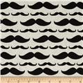 Ladies & Gentlemen Mustache Stripe Beige