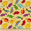 Lost World Dino Grid Yellow/Multi
