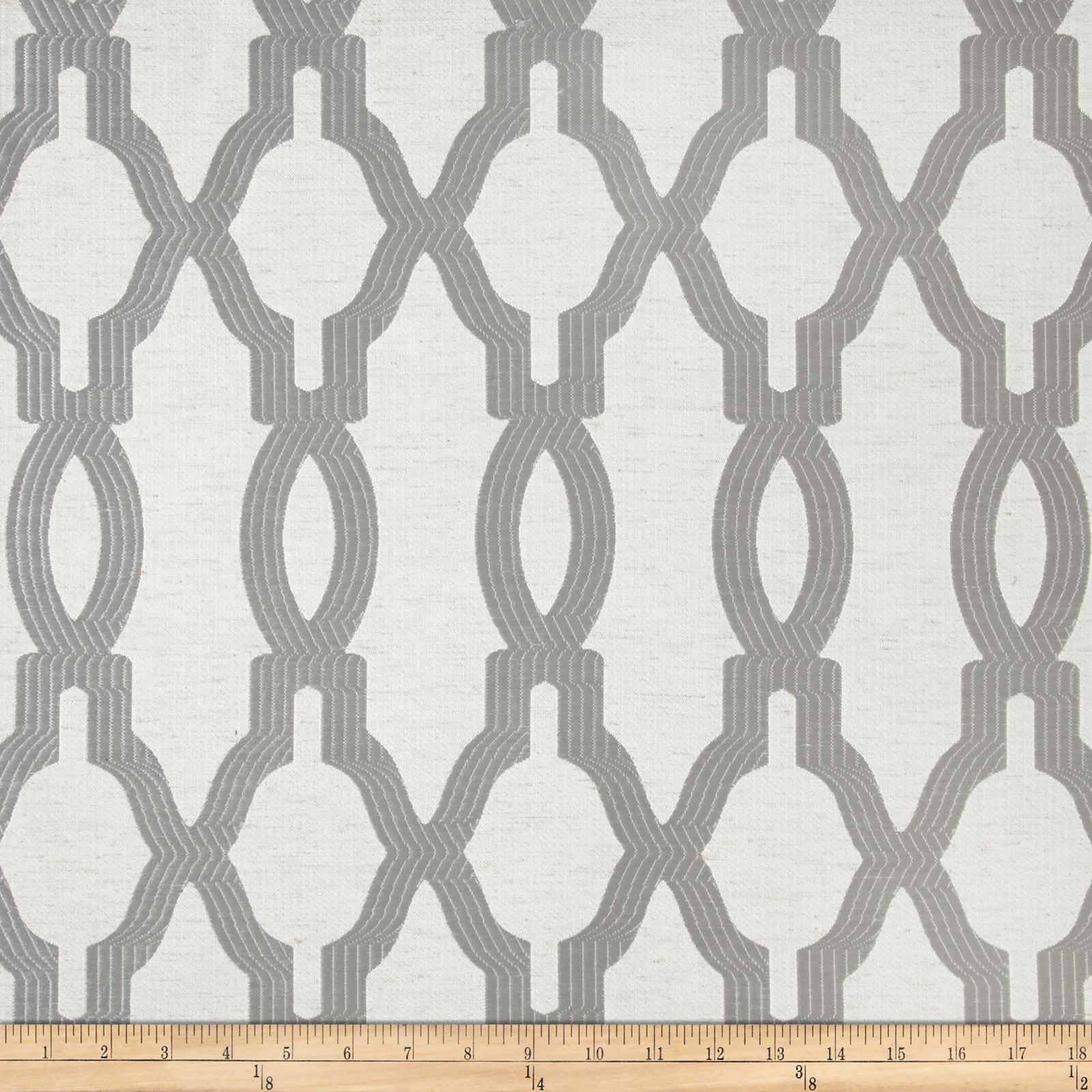 Eroica Yorkshire Jacquard Platinum Fabric by Eroica in USA