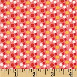 Riley Blake Chatsworth Dot Coral