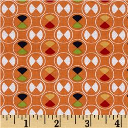 Riley Blake Vintage Happy Circles Orange