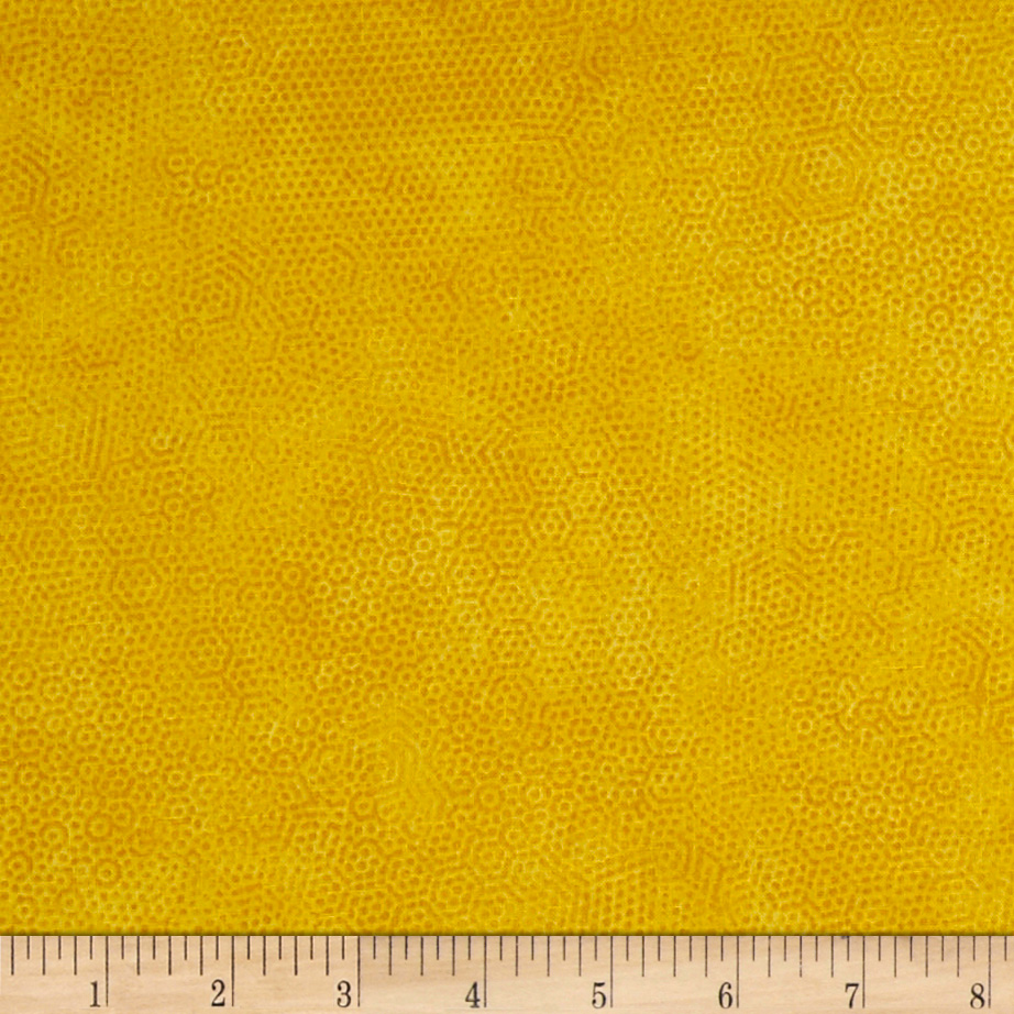 Andover Dimples Golden Fabric