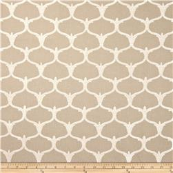 Nate Berkus Grenelle Embroidered Pebble Fabric