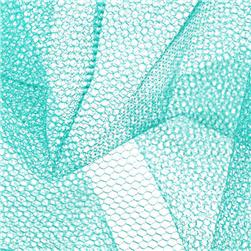 Nylon Net Aqua Fabric