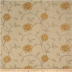 Trend 02730 Embroidered Taffeta Persimmon