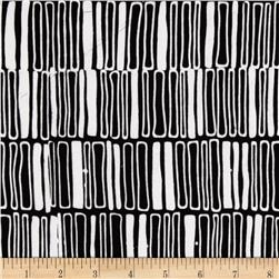 Artisan Batiks Pop Op Fence Stripe Black