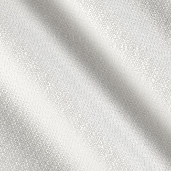 Kaufman Raw & Refined 5 oz.  Dobby Diamond Plaid White