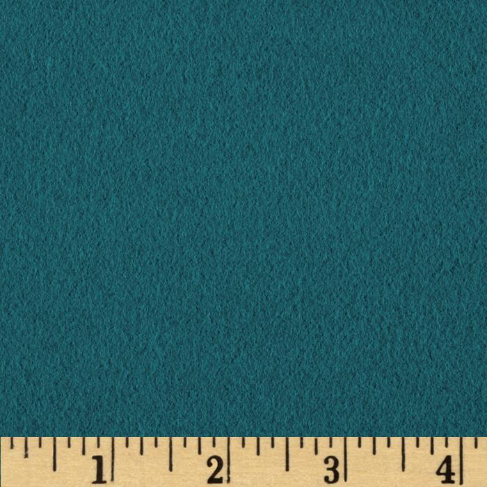 Quilt Block Solid Flannel Teal
