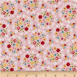 Riley Blake Bloom & Bliss Wreath Pink