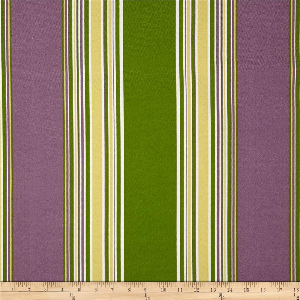 Tempo Indoor/Outdoor Club Stripe Plum