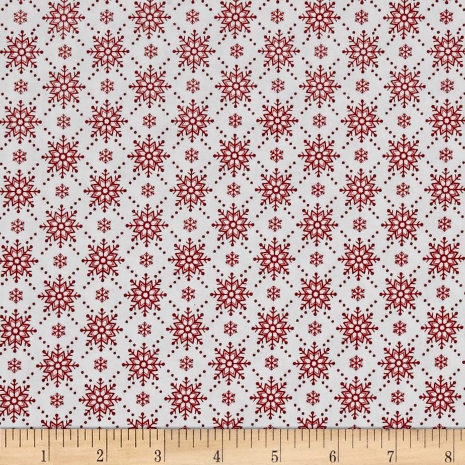 Christmas Wishes Snowfall Snow Holiday Red