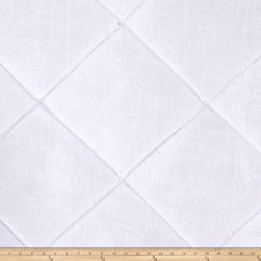 Trend 01795 Pintucked Taffeta Snow