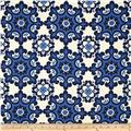 Riley Blake Home Décor Ornate Damask Navy