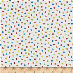 The Big Dig Dots White
