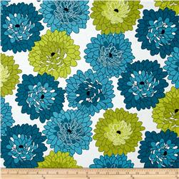 Fresh Bloom Little Blooms Teal/Green
