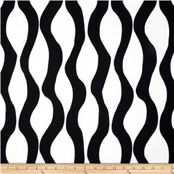 Poppy Modern Lava Stripe Black/White