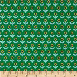 Joel Dewberry Modernist Voile Tulip March Emerald
