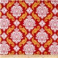 Joel Dewberry True Colors Damask Red