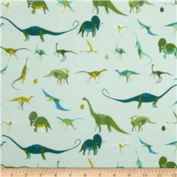 The Hit Parade Knits Dinosaurs Green