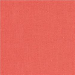 Cotton Supreme Solids Beach Coral