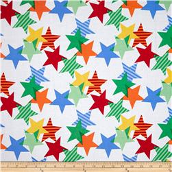 Michael Miller Funfair Stars-A-Lined Primary