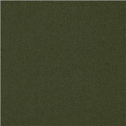 Kaufman Chamonix Cotton Moleskin Moss Fabric