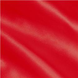 Silky Satin Charmeuse Red