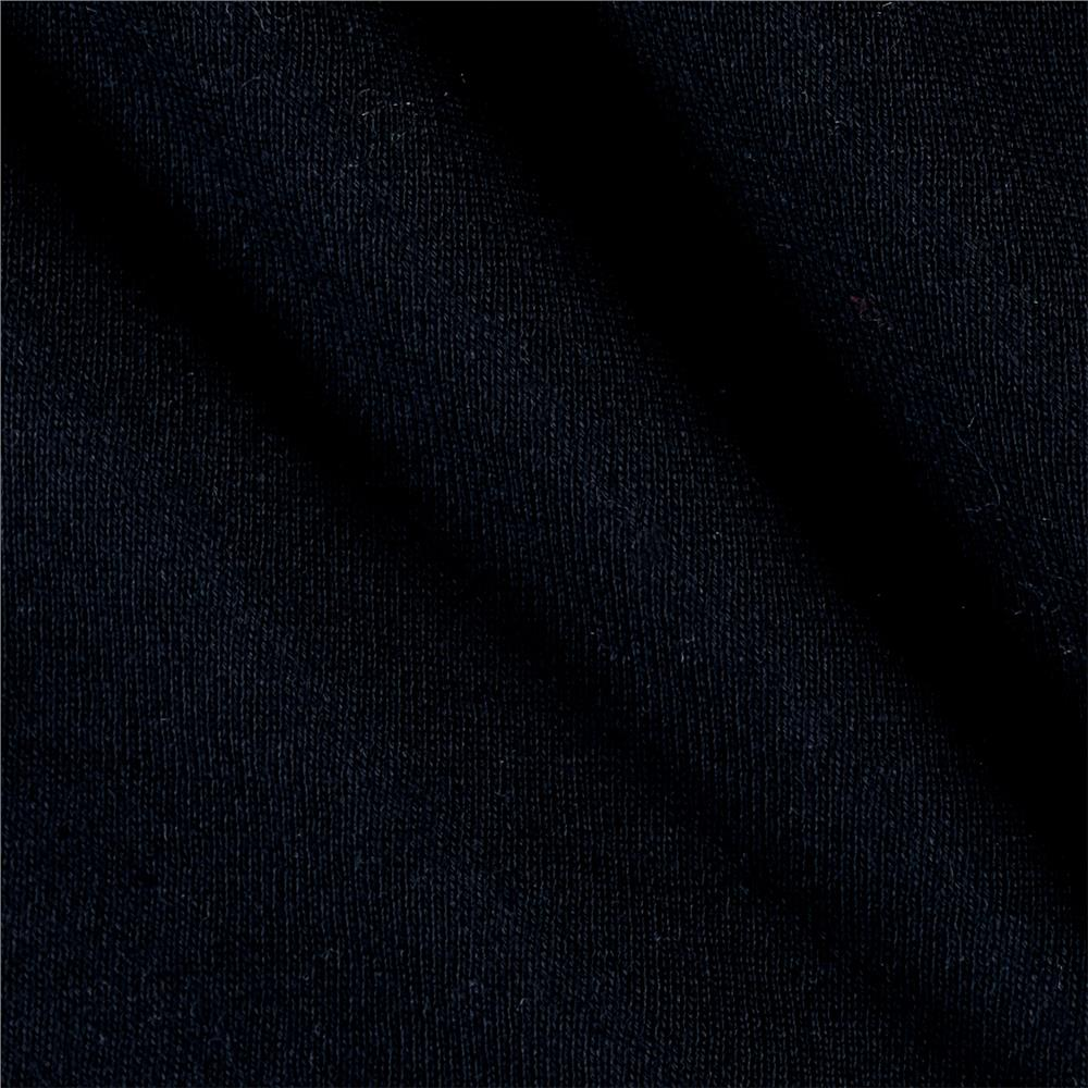 Cotton Fleece Solid Navy