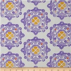 Ty Pennington Home Decor Sateen Fall 11 Delhi Purple