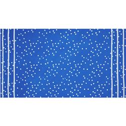Alison Glass The Blues Batik Double Border Stripe Dot Blue