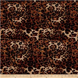 ITY Knit Animal Print Brown
