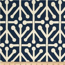 Premier Prints Aruba Felix Blue/Natural Fabric