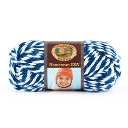 Lion Brand Hometown Usa Yarn 608 Wildcats