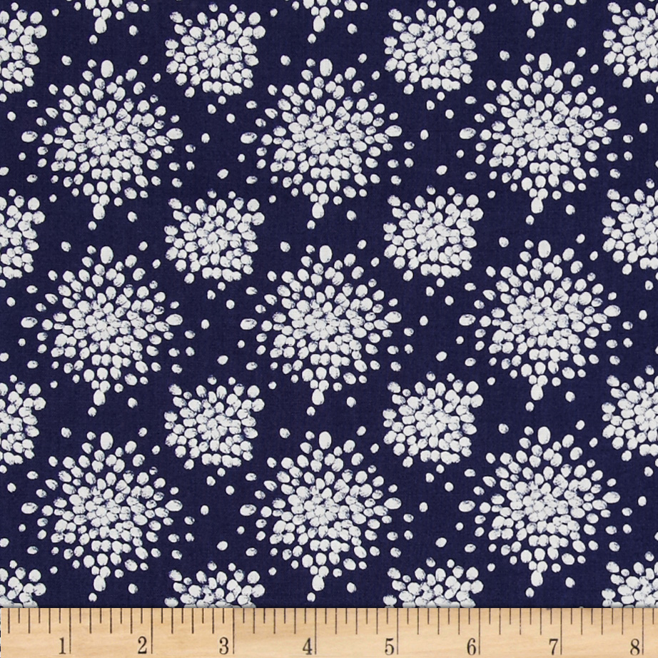 Mint To Be Celebration Navy Fabric